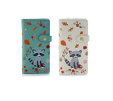 Shagwear Raccoon and Friends Large Zipper Women's Wallet