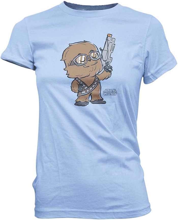 Super Cute Tees: Star Wars - Chewie Standing Proud T-Shirt
