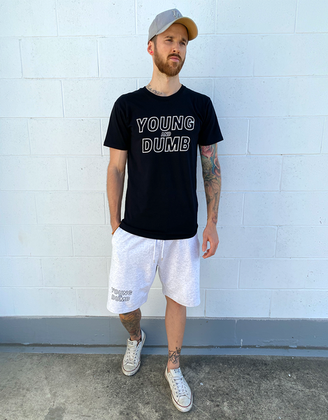 Young and Dumb black tee