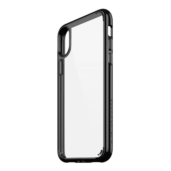 Patchworks Lumina Slim Case For iPhone XS/X, Clear/Black (2037392343097)