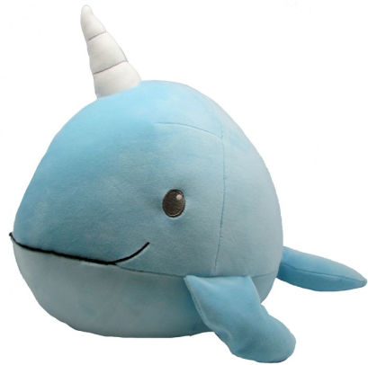 Kids Preferred   - Cuddle Pal Round Large Narwhal 11""