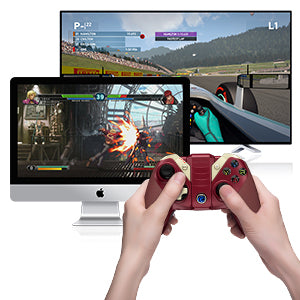 GameSir    - M2 Mfi Bluetooth Game Controller, Gamepad for iPhone, iPad - Red