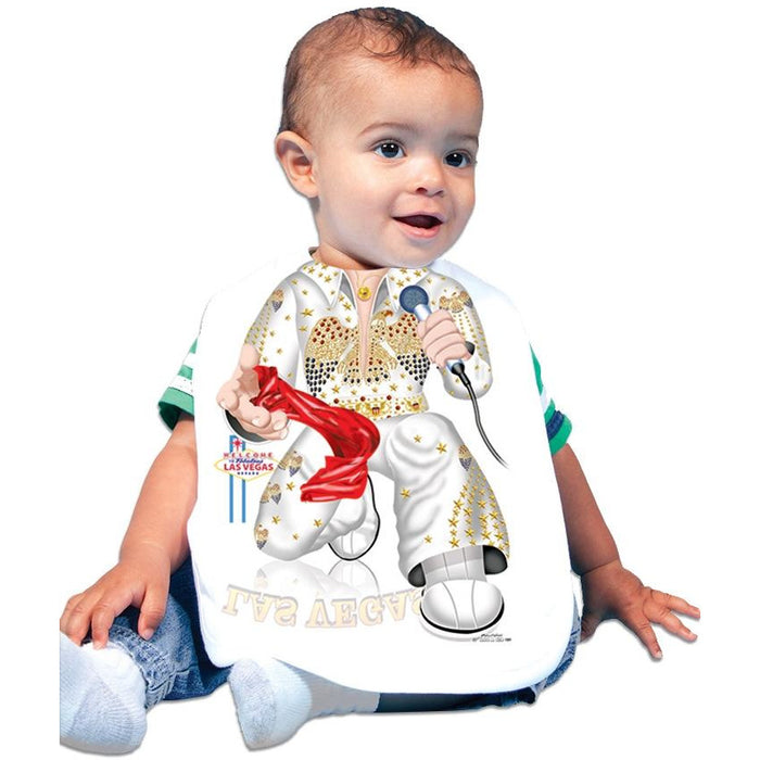 Just Add A Kid - Bib The King Elvis Presley One-Size - 0 to 12 Months