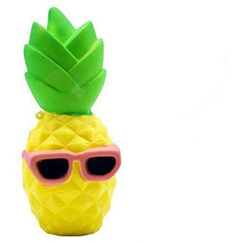 Squishies - Cool Ananas Small - Yellow