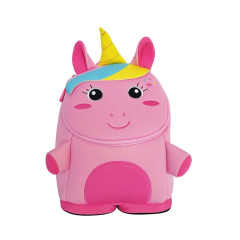 Nohoo - Unicorn 3D Water Resistance Kids Backpack - 2 to 6 Years - Pink