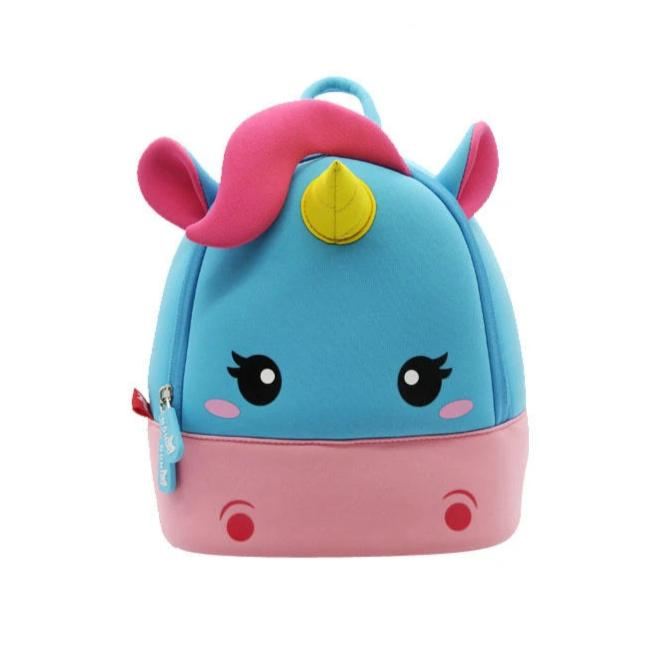 Nohoo - Unicorn 3D Water Resistance Kids Backpack