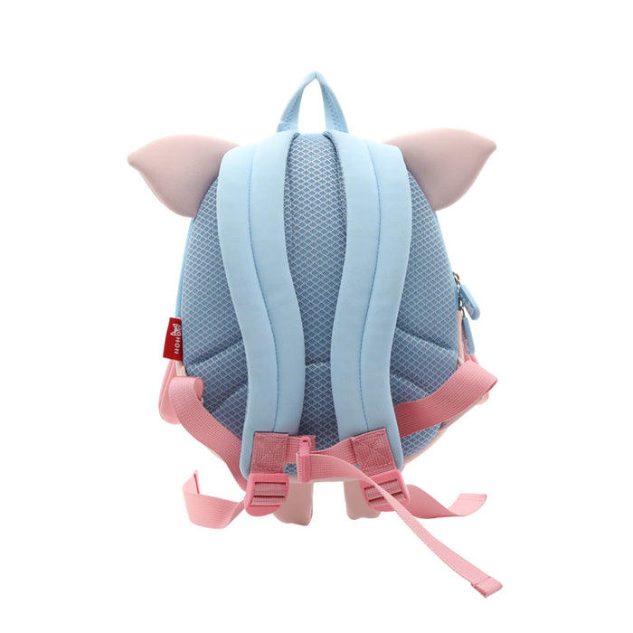Nohoo - Pig 3D Water Resistance Kids Backpack - 3 to 5 Years - Pink