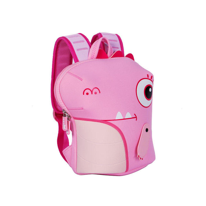 <strong>Nohoo</strong> - Dinosaur Fully-Shaped 3D Water Resistance Kids Backpack - 3 to 6 Years Old - GREEN