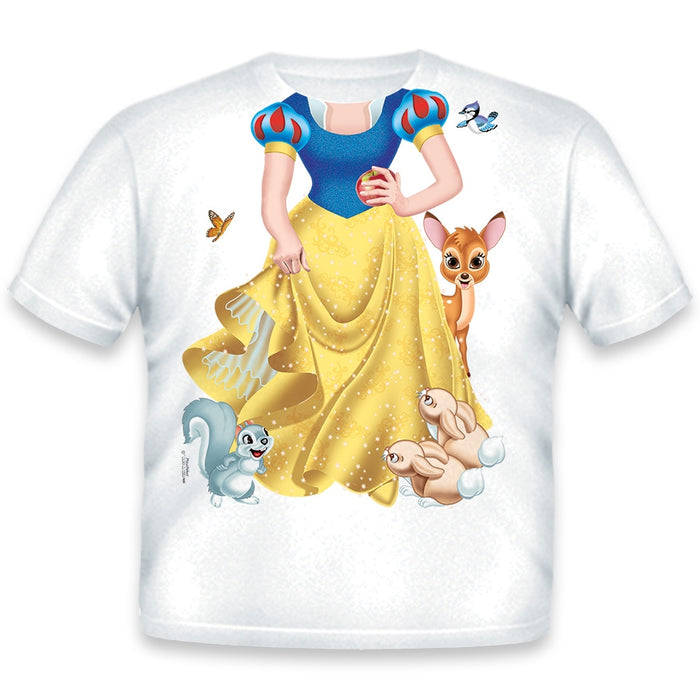 Just Add A Kid - T-Shirt Princess Forest - 3 Years