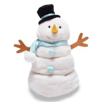 Cuddle Barn - Musical Plush Melty The Snowman 14""