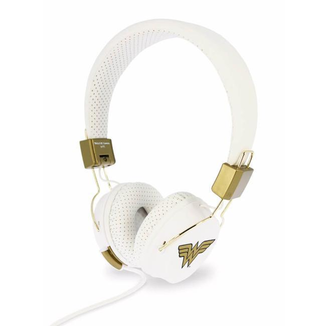 OTL - Wonder Woman Tween Foldable Volume Limiting Kids Headphones