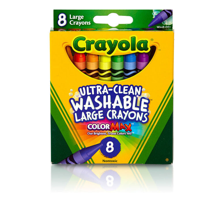 Crayola   - 8 Washable Large Crayons