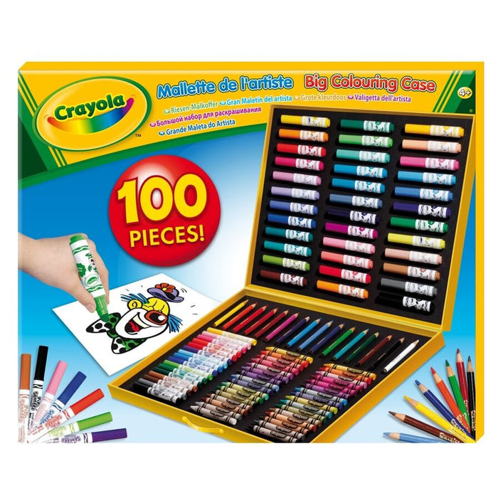 Crayola   - Big Colouring Case (French)