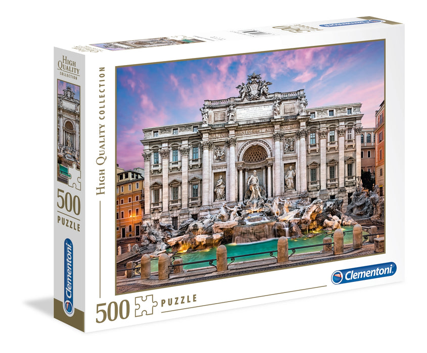 Clementoni  - Trevi Fountain Adult Puzzle 500pcs