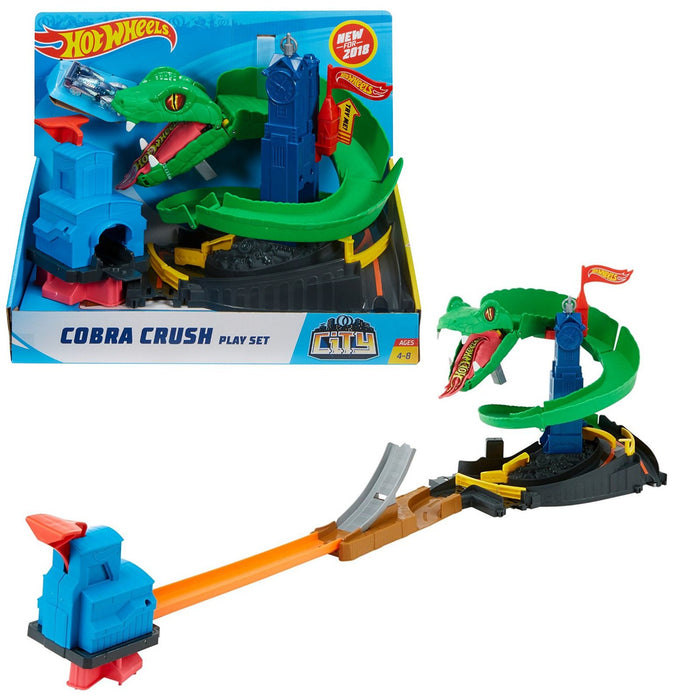 Hot Wheels   - City Cobra Crush Playset