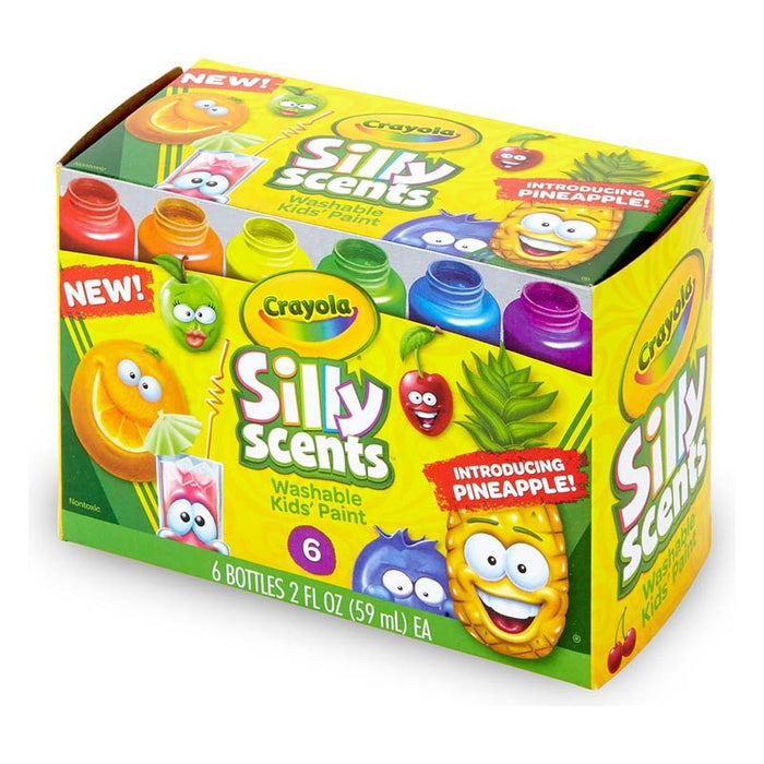 Crayola   - 6 Washable Silly Scents Paint