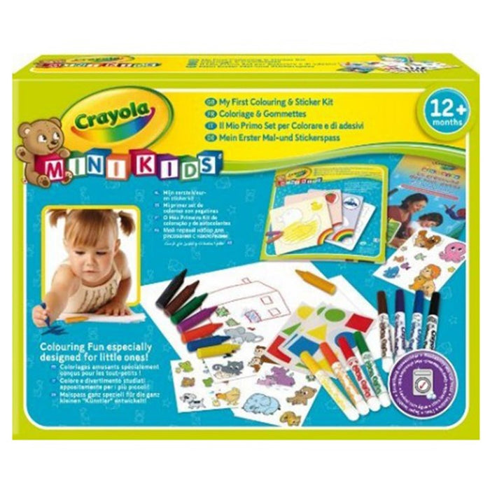 Crayola   - Mini Kids My First Colouring & Sticker (French)