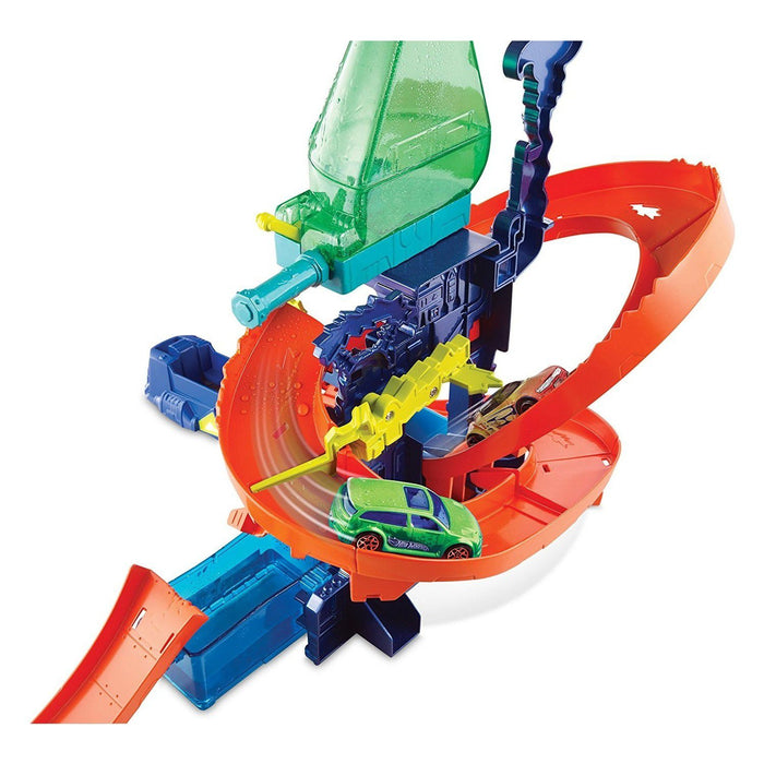 Hot Wheels  - Color Shifters Splash Science Lab Playset