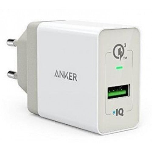 Anker - PowerPort+ 1 with Quick Charge 3.0 - White