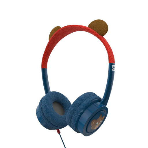 Ifrogz-Headphone-Little Rockerz Costume-With Buddy Jack And Coiled Cable-Fg-Bear