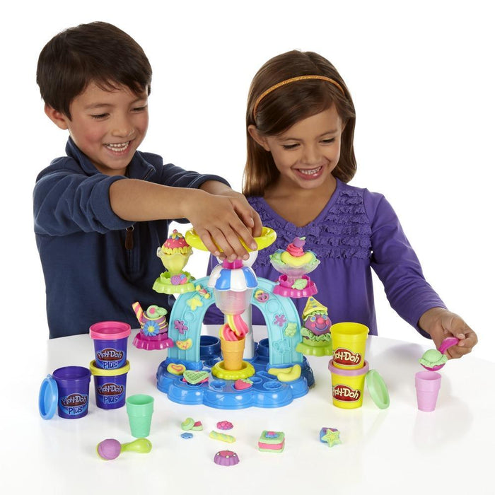 Play-Doh   - Sweet Shoppe Swirl and Scoop Ice Cream