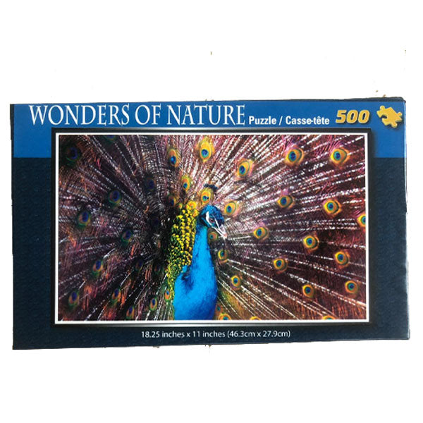 Wonders of Nature   - Peacock 500pcs