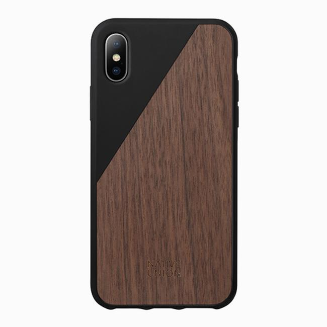 Native Union - Iphone X Clic Wood Case - Black / Wal