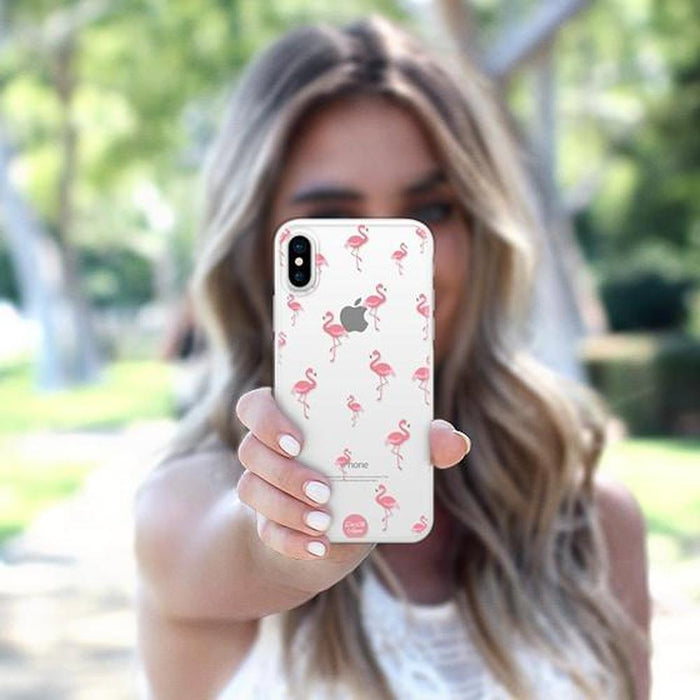 Casetify - iPhone X/XS Snap Case - Flamingo