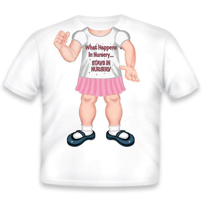 Just Add A Kid - T-Shirt Nursery Girl - 2 Years