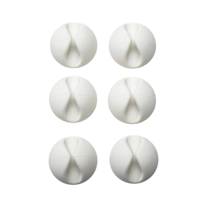Bluelounge Cabledrop - White Color (6 Packs)