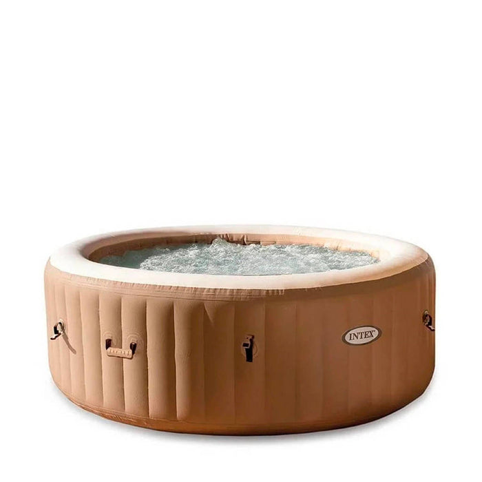 INTEX - Purespa Bubble Massage Set 4 Person- Beige 196 x 71 cm