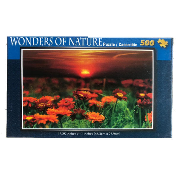 Wonders of Nature   - Flowers at Sunset 500pcs