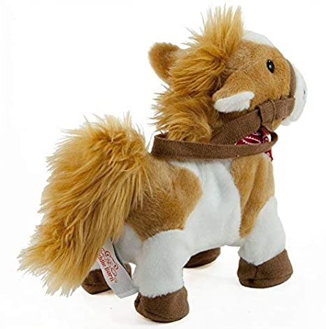 Cuddle Barn - Musical Plush Rusty The Horse 10""