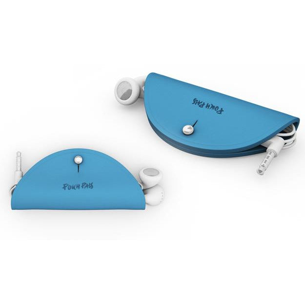 PouchPals - Earbuds Case - Blue