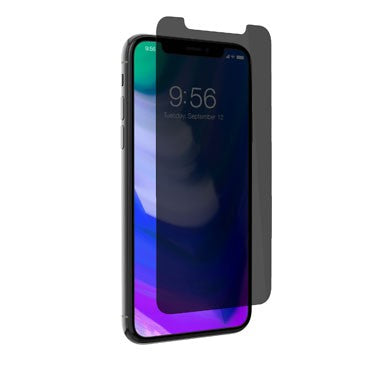 Zagg Iphone X Invisible Shield - Glass Plus Privacy - Case Friendly - Screen Protector (2037390114873)