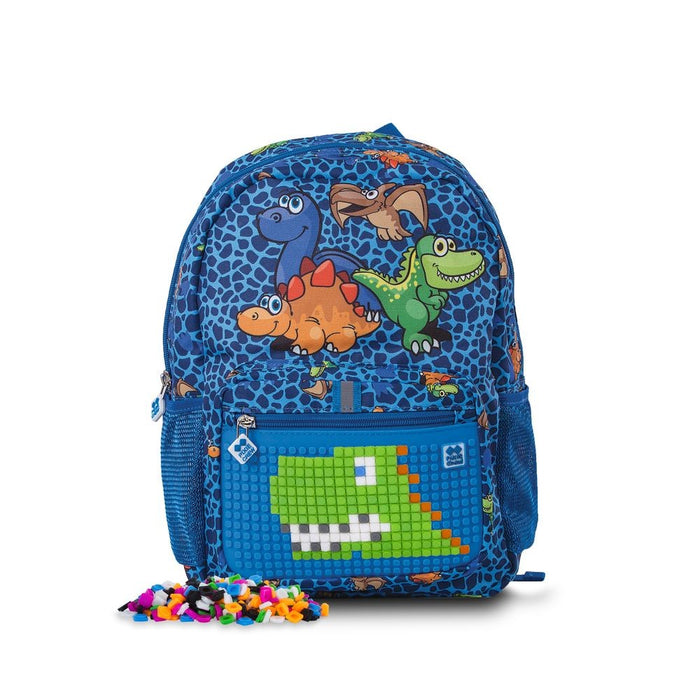 Pixie - Backpack PXB-18 Dino - Blue