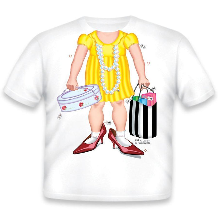 Just Add A Kid   - T-Shirt Shopper Youth XS (4-5 Years)