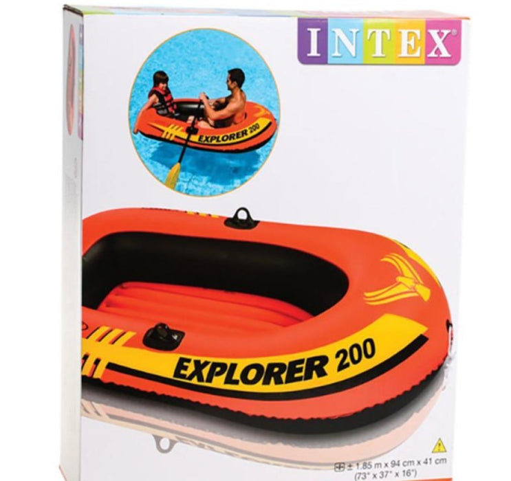 INTEX   - Explorer 200 Boat