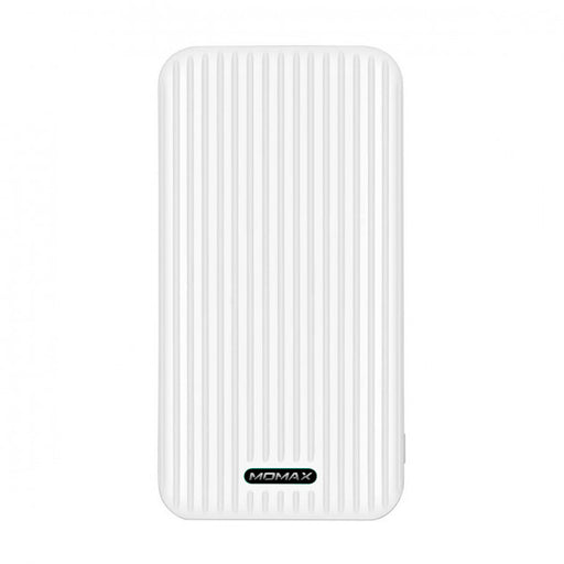 MOMAX iPower GO Slim Battery 10000 mAh White