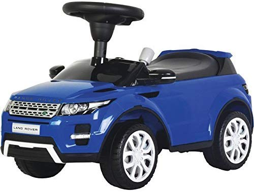 "Kids Preferred - Licensed to Ride-On Land Rover Range Rover Evoque 26"" with Sound - Blue"