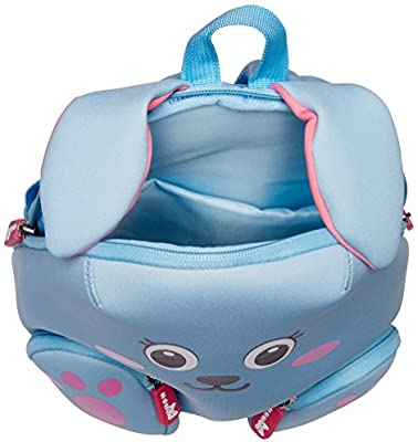 Nohoo - Rabbit 3D Water Resistance Kids Backpack - 2 to 6 Years - Blue