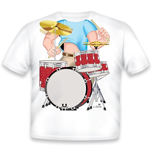 Just Add A Kid - T-Shirt Drummer - 2 Years