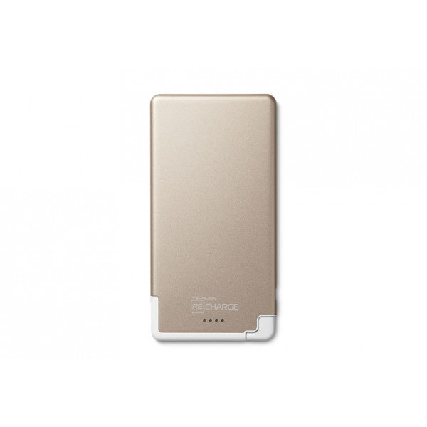 Recharge 3000 Ultrathin With Lightning -Gold/ White