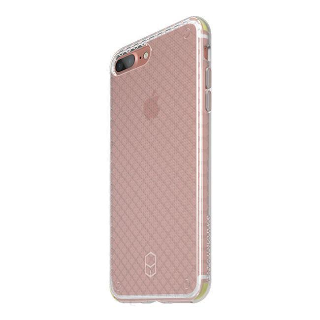 Patchworks - iPhone 8/7 Flexguard Case - Clear