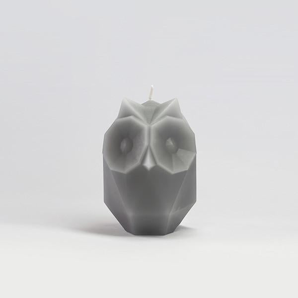 54Celsius - PyroPet Skeleton Ugla Candle Cool - Grey