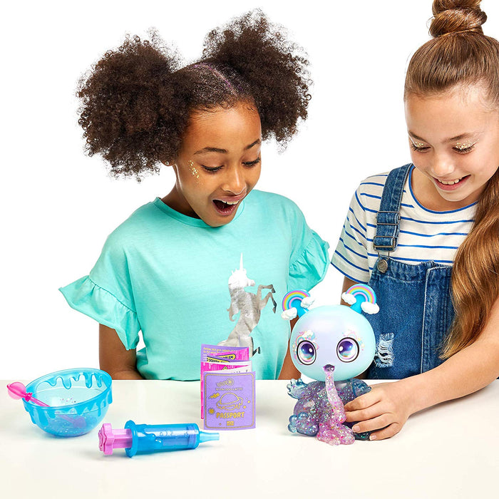 "Character Option   - Goo Goo Galaxy 8"" Doll with DIY Slime & Glitter Kit"
