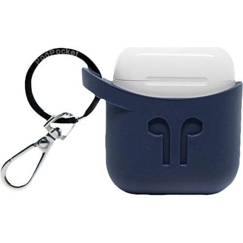 Podpocket- Silicone Case For Apple Airpods  Indigo Blue (2037388902457)