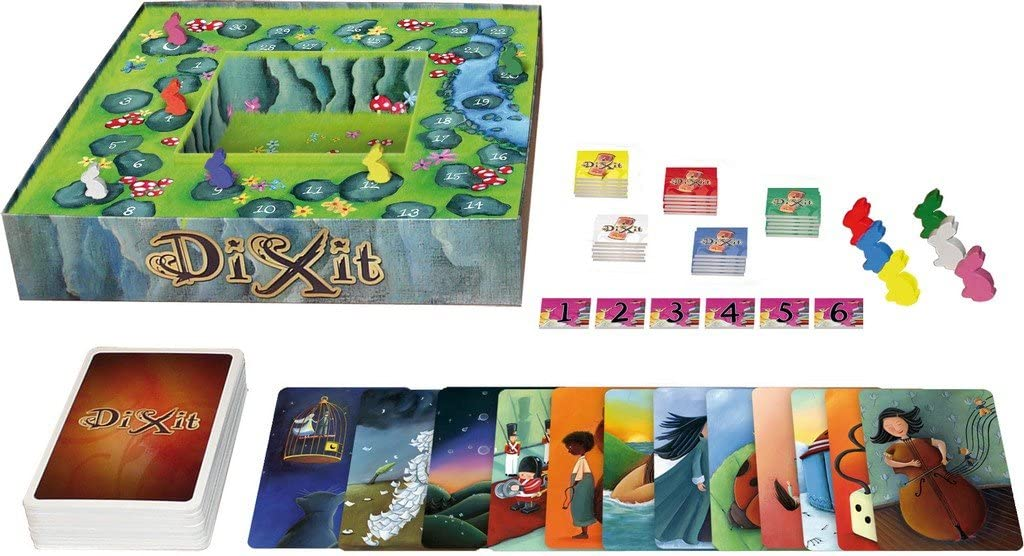 "Asmodee   - Dixit Classic New Version ""A Story Telling Game"" (French)"