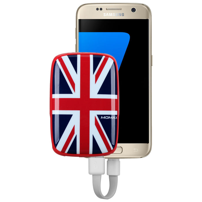Momax - iPower Art 9000mAh External Battery Pack - British Flag