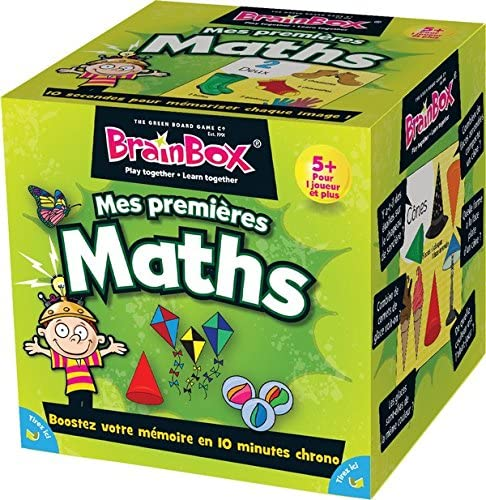 "Asmodee   - Brainbox My First Maths  ""Action and Reflex Game"" (French)"